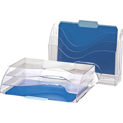 Officemate Clip Organizer Value Pack, Clear
