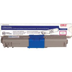 Okidata Toner Cartridge, 3,000 Page Yield, Magenta