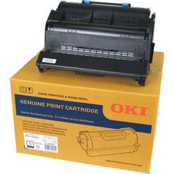 Okidata Toner Cartridge, 25, 000 Page Yield, Black