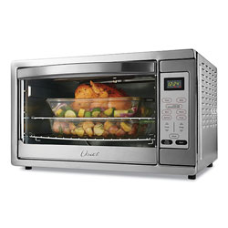Oster Extra Large Digital Countertop Oven, 21.65 x 19.2 x 12.91, Stainless Steel