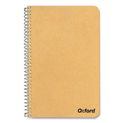 Oxford One-Subject Notebook, Medium/College Rule, Tan Cover, 11 x 8.5, 80 Green Tint Sheets