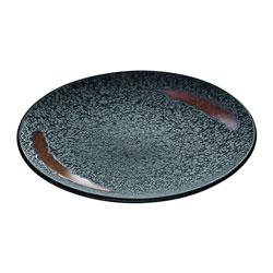 Bauscher Hepp Playground Lava Flat Plate, 7.9 in
