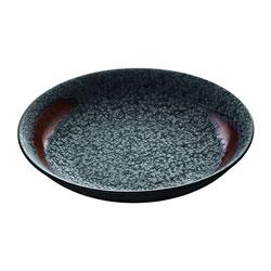 Bauscher Hepp Playground Lava Deep Plate, 8.7 in
