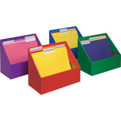 Pacon Folder Holder Assortment, 9-5/8 in x 11-3/4 in x 5-3/4 in, Assorted