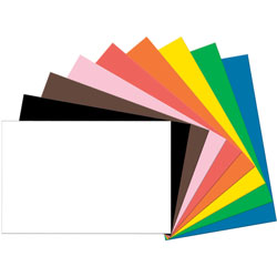 Pacon Tru-Ray Construction Paper, 76 lbs., 24 in x 36 in, Assorted