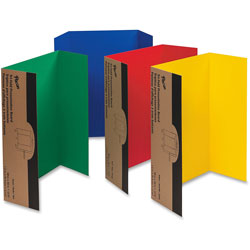 """Pacon Single Walled Presentation Board , 48""""x36"""", 24/ST, Assorted"""