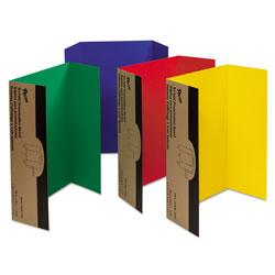 Pacon Spotlight Corrugated Presentation Display Boards, 48 x 36, Assorted, 4/Carton