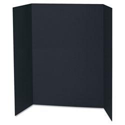 Pacon Spotlight Corrugated Presentation Display Boards, 48 x 36, Black, 24/Carton