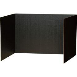 Pacon Privacy Board, 48 in x 16 in, Black