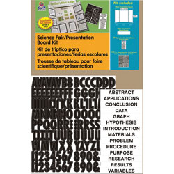 Pacon Corrugated Presentation Board Kit, 48 inx36 in, White