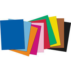 Pacon 4-Ply Railroad Board 22 in x 28 in - Assorted