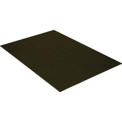 Pacon Foam Board, 20 in x 30 in, 3/16 in Thick, 10/PK, Black On Black