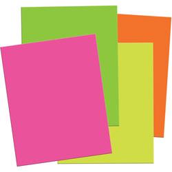 Pacon Neon Foam Board, 20 in x 30 in, 12Sheets/PK, Ast