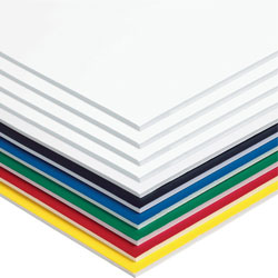 "Pacon Foam Board, 3/16"" Thick, 20"" x 30"", Assorted"