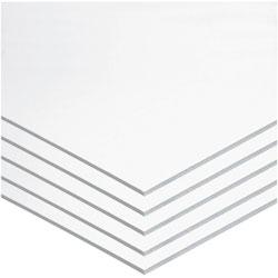 """Pacon Foam Board, 22""""x28"""", 5/CT, White"""