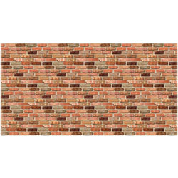 Pacon Fadeless Designs Reclaimed Brick, 48 in x 50', 1RL, Assorted