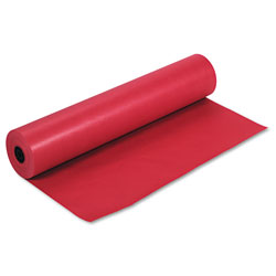 Pacon Rainbow Duo-Finish Colored Kraft Paper, 35lb, 36 in x 1000ft, Scarlet