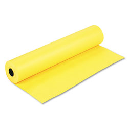 Pacon Rainbow Duo-Finish Colored Kraft Paper, 35lb, 36 in x 1000ft, Canary
