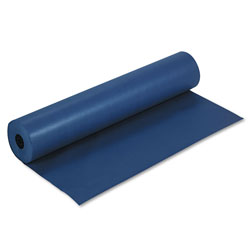 Pacon Rainbow Duo-Finish Colored Kraft Paper, 35lb, 36 in x 1000ft, Dark Blue