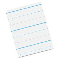 Pacon Z-Bloser Sulphite Paper, Rld, Grade-2, 10-1/2 inx8 in, 500Sh, WE