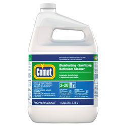 Comet Professional Liquid Disinfecting & Sanitizing Bathroom Cleaner, Ready to Use, 1 Gallon Bottle