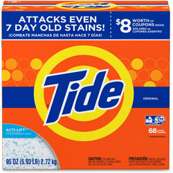 Tide Powder Laundry Detergent, 5.93lbs, Orange