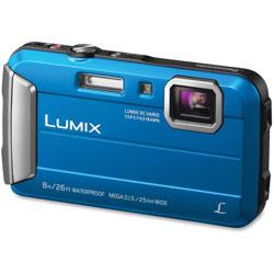 Panasonic Lifestyle Touch Camera, Digital, Waterproof, Blue