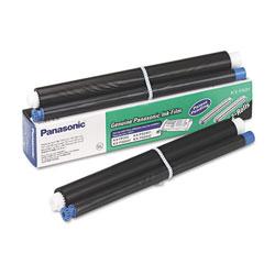 Panasonic KX-FA91 Film Roll Refill, 80 Page-Yield, Black, 2 Rolls/Box