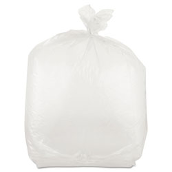 "Inteplast Plastic Food Bags, 10"" x 8"" x 24"", Case of 500"