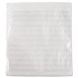InteplastPitt Food Bags, 0.36 mil, 1 in x 6.75 in, Clear, 2,000/Carton