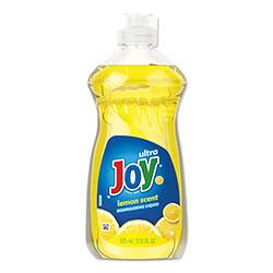 Joy Dishwashing Liquid, Lemon Scent, 12.6 oz Bottle
