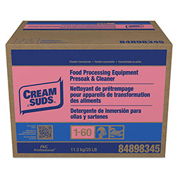 Cream Suds Manual Pot & Pan Detergent w/Phosphate, Baby Powder Scent, Powder, 25 lb. Box