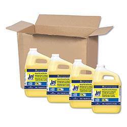 Joy Dishwashing Liquid, Lemon Scent, One Gallon Bottle, 4/Carton