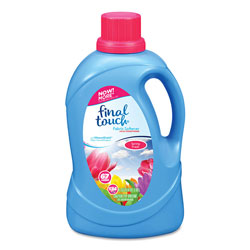 Final Touch® Fabric Softener, Spring Fresh Scent, 67 Loads, 134 oz Bottle, 4/Carton