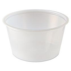 Fabri-Kal Portion Cups, 2 oz, Clear, 2500/Carton