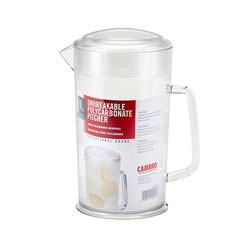 Cambro Camwear® Pitcher Covered 64 oz. Clear