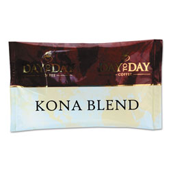 PapaNicholas 100% Pure Coffee, Kona Blend, 1.5 oz Pack, 42 Packs/Carton