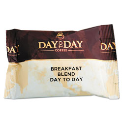PapaNicholas 100% Pure Coffee, Breakfast Blend, 1.5 oz Pack, 42 Packs/Carton
