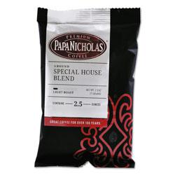 PapaNicholas Premium Coffee, Special House Blend, 18/Carton