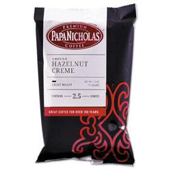 PapaNicholas Premium Coffee, Hazelnut Creme, 18/Carton