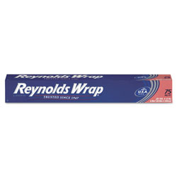 Reynolds Standard Aluminum Foil Roll, 12 in x 75 ft, Silver