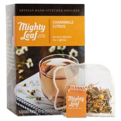 Mighty Leaf Tea Whole Leaf Tea Pouches, Chamomile Citrus, 15/Box