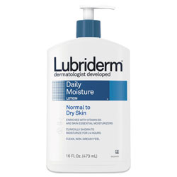 Lubriderm® Skin Therapy Hand & Body Lotion, 16 oz Pump Bottle