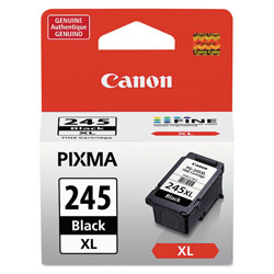 Canon 8278B001 (PG-245XL) ChromaLife100+ High-Yield Ink, 300 Page-Yield, Black
