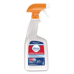 Febreze Professional Sanitizing Fabric Refresher, Light Scent, 32 oz Spray