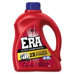 Era 2x Liquid Laundry Detergent, High Efficiency Compatible, 100 oz. Bottle (64 loads), 4/Case, 256 Loads Total