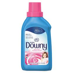 Downy Ultra Fabric Softener, April Fresh Scent, 19 oz. Bottle (23 loads), 6/Case, 138 Loads Total