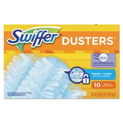 Swiffer Dust Lock Fiber Refill Dusters, Lavender & Vanilla Scent, 10 Per Box, 4/Case, 40 Total