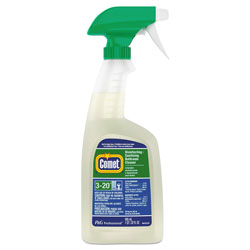 Comet Professional Liquid Disinfecting & Sanitizing Bathroom Cleaner, Ready to Use, 32 oz. Spray Bottles, 8/Case