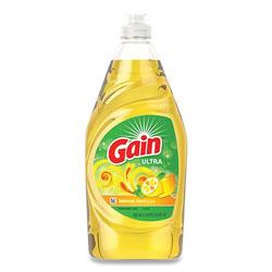 Gain Dishwashing Liquid, Lemon Zest, 21.6 oz Bottle